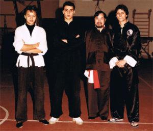Giuseppe De Rosa con Dario Ambra e Vang